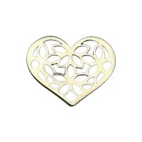 Inima aur 14 k au585 placta cu aur de 18k
