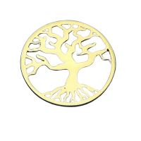 link aur 14k pomul vietii placat cu aur de 18 k