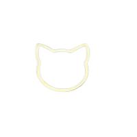 Pisica aur 14k placat cu aur de 18k