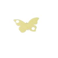 fluture aur 14k placat cu aur de 18k