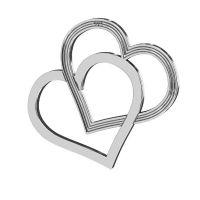 link argint 925 inimi 18 *21 mm