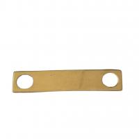 placuta aur 14k placata cu aur de 18k