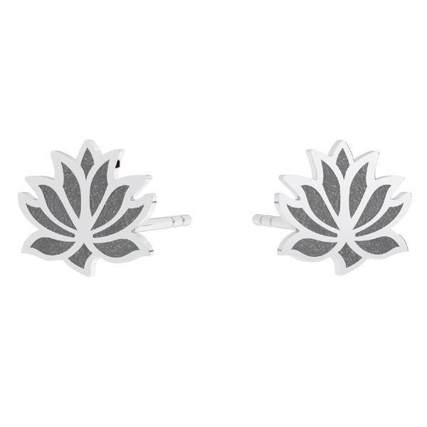 tortite argint 925 lotus / pereche