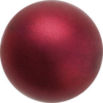 Perle Preciosa 6mm bordeaux