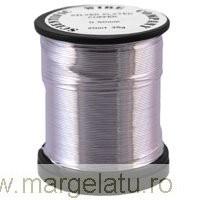 sarma cupru argintata 1 mm  4 metr non tarnsihi cod xag19