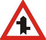 Intersecții cu drumuri fără prioritate, decalate
