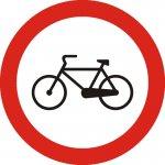 Accesul interzis bicicletelor