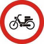 Accesul interzis mopedelor