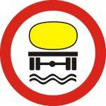Accesul interzis vehiculelor care transportă substanțe de natură să polueze apele