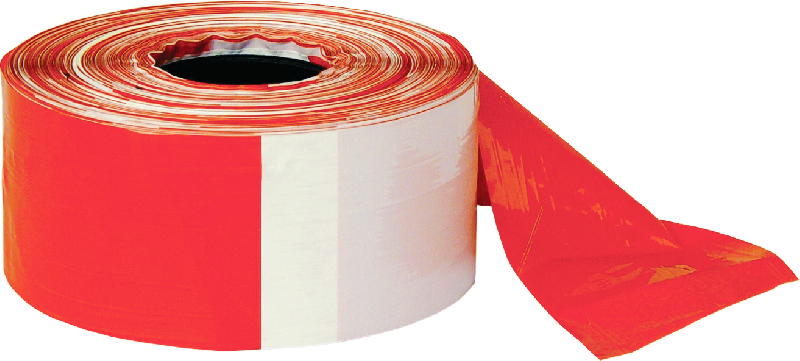 banda delimitare si semnalizare alb rosu lungime 200 m latime 70 mm