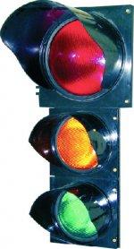Semafor roșu, galben, verde