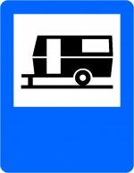 Teren pentru caravane (tabără turistică)
