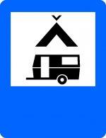 Teren pentru camping și caravane