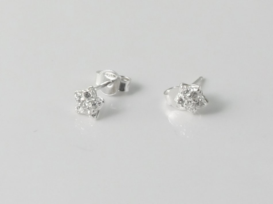 Cercei stea cu cristale Swarovski 25-CER