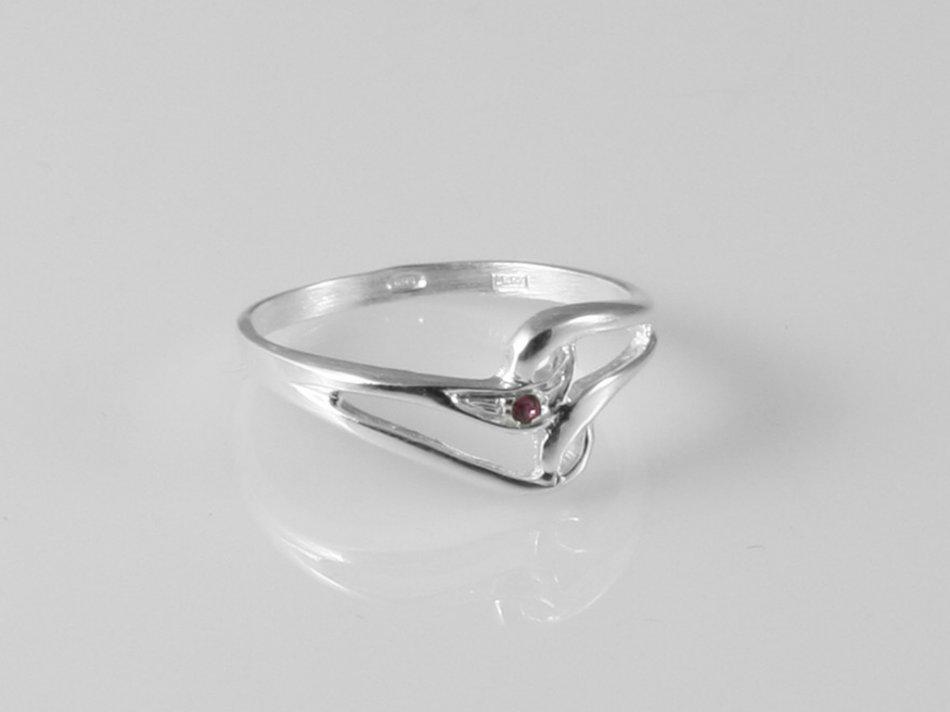 Inel cu cristal Swarovski 51-INE
