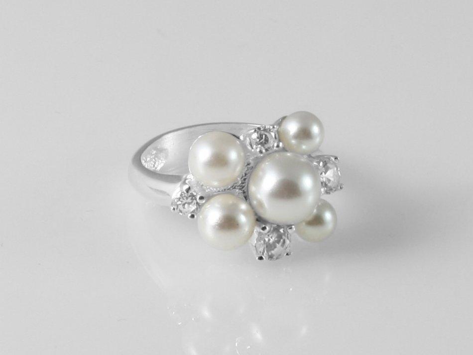 Inel cu perla sintetica 269-IN