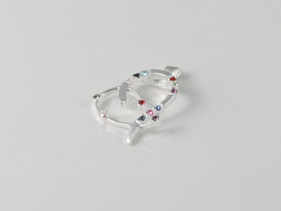Pandantiv cu cristale swarovski 292-PA