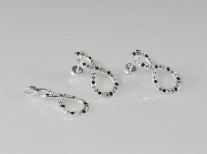 Set pandantiv si cercei cristale swarovski 383-SE