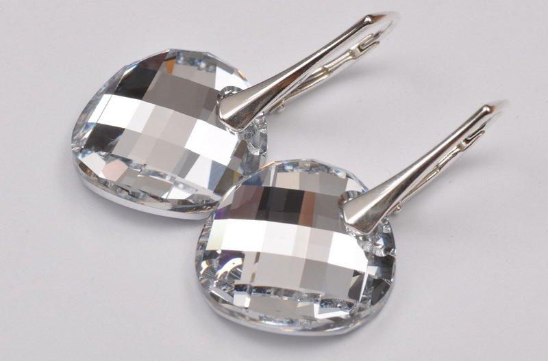 Cercei argint 925 cu swarovski; 2779-C