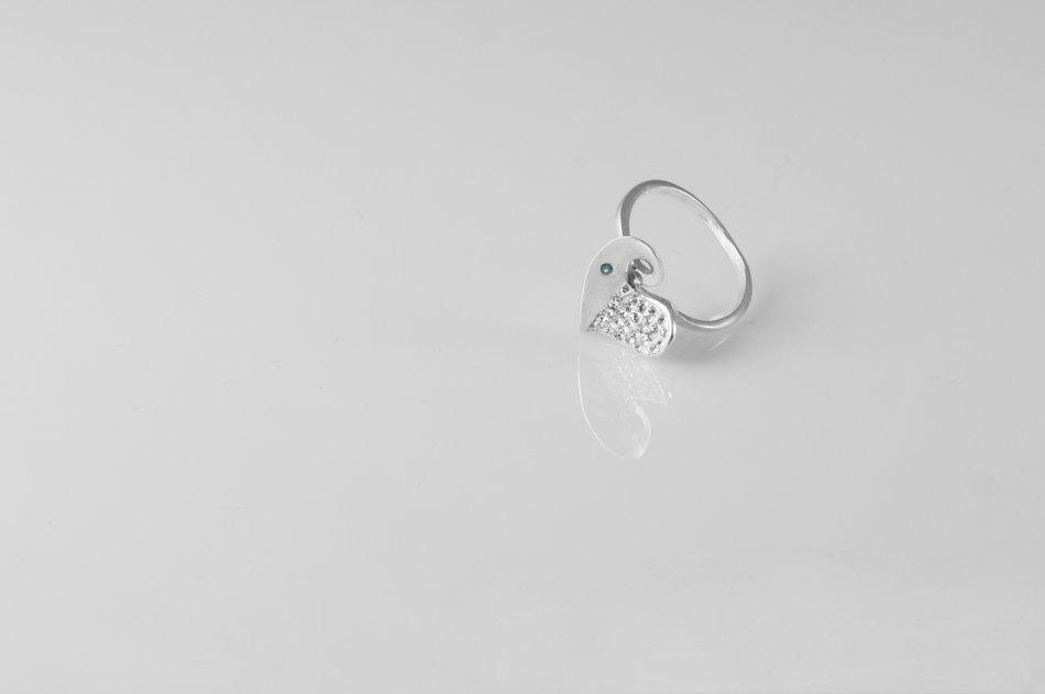 Inel argint cu zirconiu 1551-I