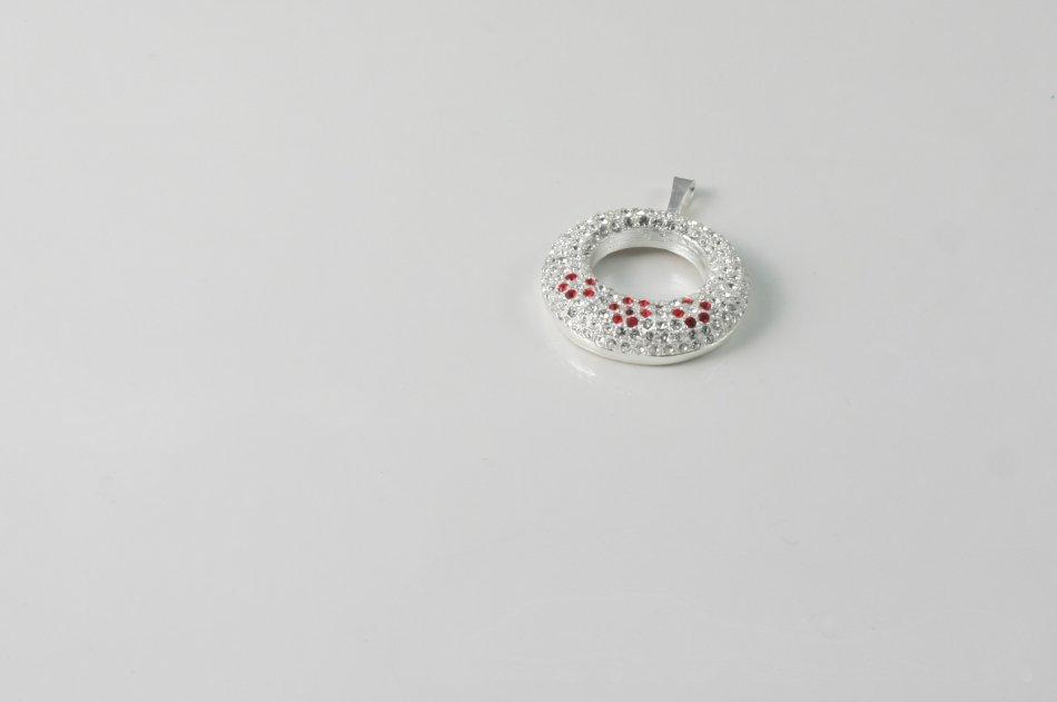 Pandantiv argint cu cristale Swarovski 1623-P