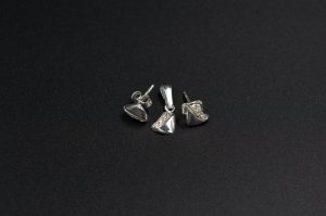 Set argint cercei si pandantiv , cristale swarovski 1321-S