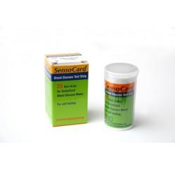 Test de glicemie SensoCard