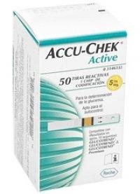 Teste de glicemie Accu-Chek Active