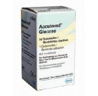 Teste de glicemie Accutrend Glucose