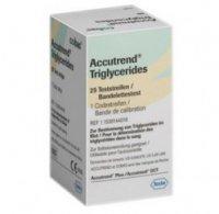 Teste de trigliceride Accutrend Triglycerides