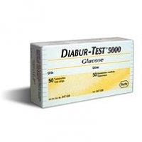 Teste de urinã cu citire vizualã Diabur Test 5000