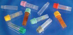 Microtainer fara aditiv, cu gel separator, cu capac rosu