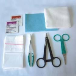 Trusa sterila pentru sutura plagii