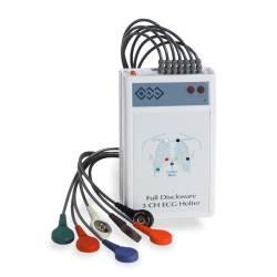 Holter EKG cu 3 canale pentru inregistrare continua EKG 24 de ore