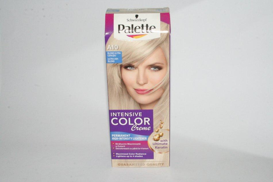 Vopsea De Par Palette Intensive Color Creme A10 Blond Cenusiu