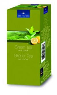 Ceai Sir Henry Green Tea Lemon