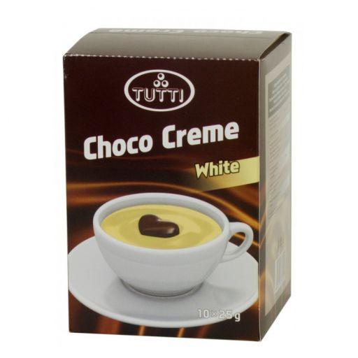 Ciocolată caldă Tutti - Albă 10x25g