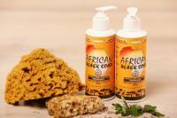 Sapun Negru African Origine Ghana- Lichid (Peppermint)