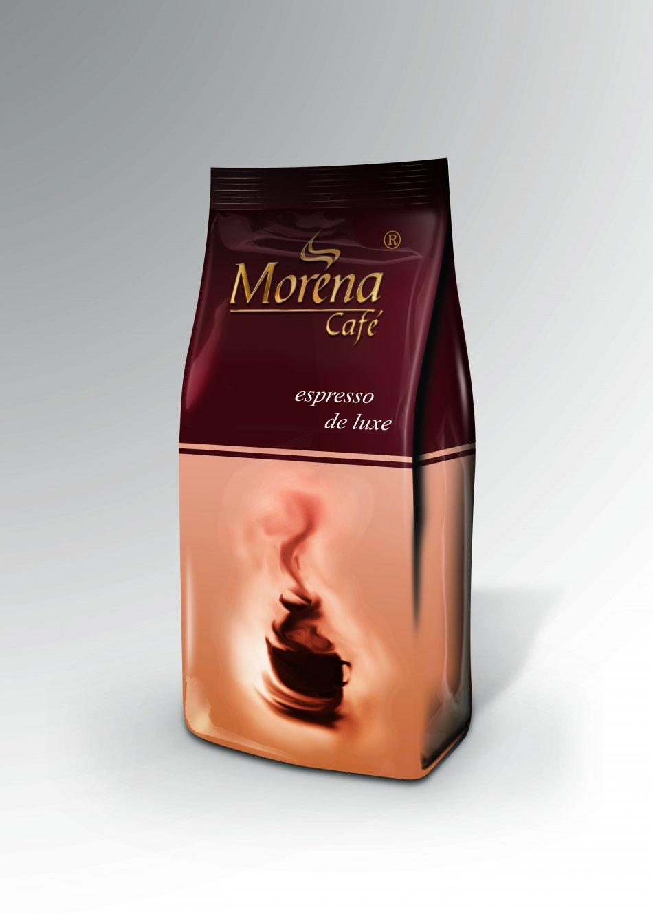 Morena cafe Espresso de luxe 1kg.