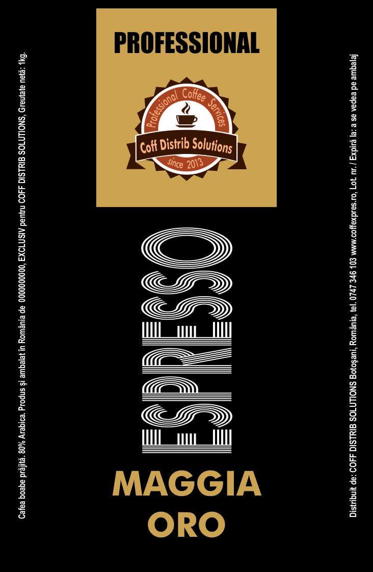 Cafea boabe MAGGIA ORO 1 KG.