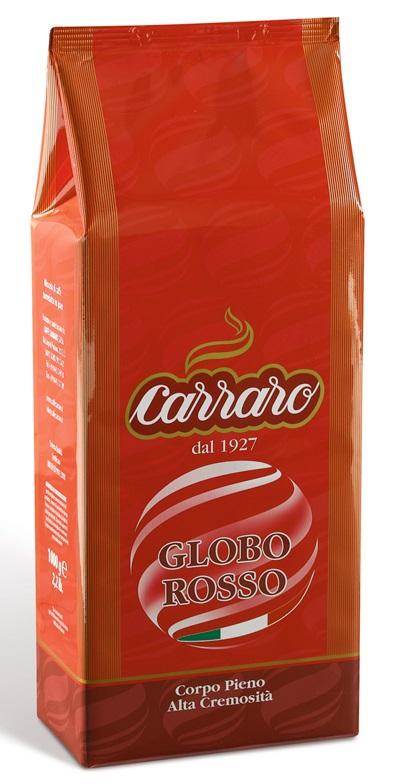 Cafea boabe - Carraro Globo Rosso 1kg.