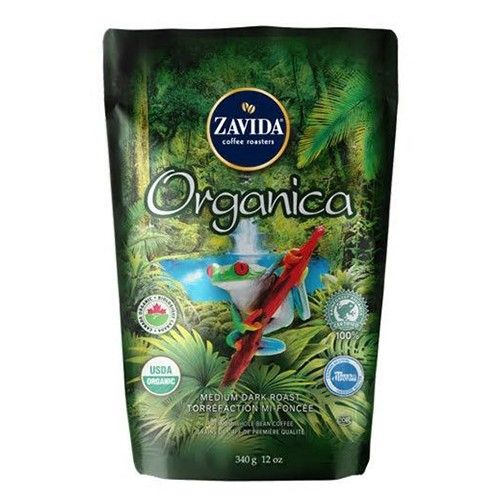 Cafea Zavida Organica Rainforest Alliance 340 gr./punga