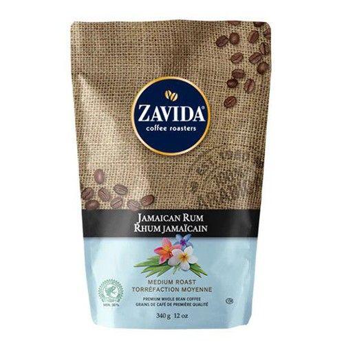 Cafea Zavida cu aroma de rom Jamaica 340 gr./punga
