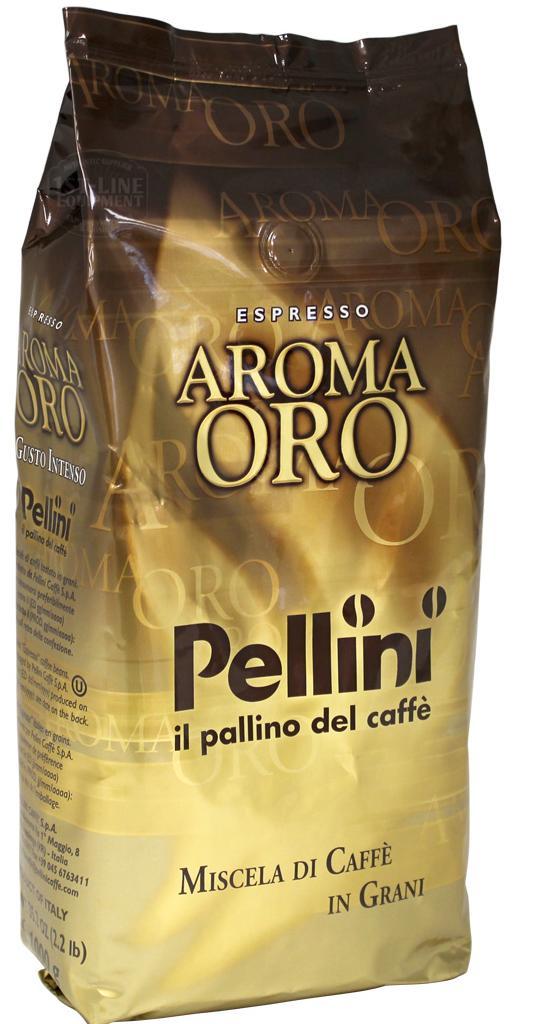 Cafea boabe - Pellini Aroma Oro Intenso 1kg.