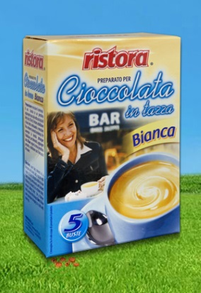 Ciocolata Alba Densa - Ristora