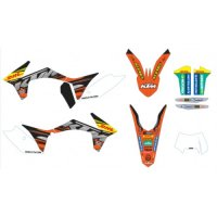 Kit Stickere KTM Enduro Factory Graphic 2012-2013