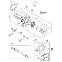Rim Lock KTM Roata Spate 2.15