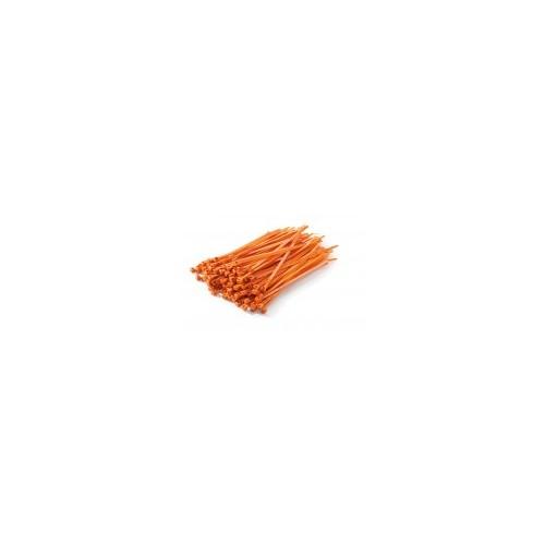 Colier plastic portocaliu