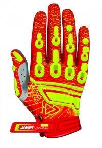 MANUSI LEATT AIRFLEX YELLOW/ORANGE