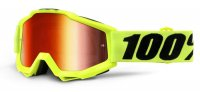 Ochelari 100% Accuri JR Fluo Yellow  Mirror Red Lens